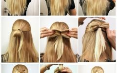 Easy and Cute Updos for Medium Length Hair