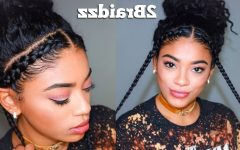 Braided Hairstyles with Natural Hair
