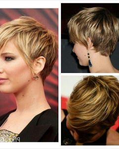 Jennifer Lawrence Short Hairstyles