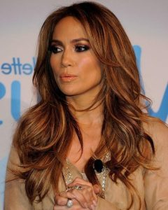 Long Layered Hairstyles Jennifer Lopez
