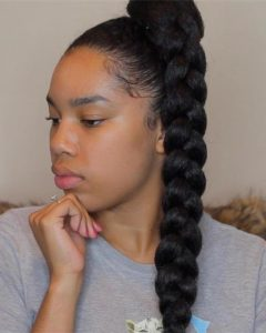 Long Braided Ponytail Hairstyles