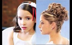 Wedding Hairstyles for Junior Bridesmaids