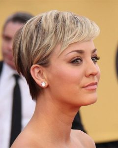Kaley Cuoco Short Hairstyles