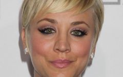 Kaley Cuoco New Short Haircuts