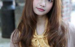 Long Wavy Hairstyles Korean
