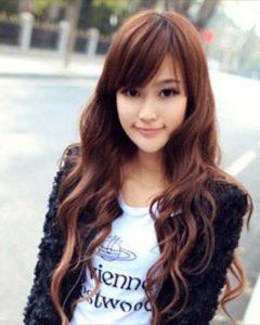 Korean Women Hairstyle Round Face