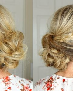 Updo Braid Hairstyles
