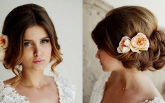 Beach Wedding Hairstyles for Bridesmaids