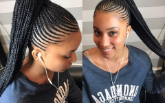 Black Braided Ponytail Hairstyles