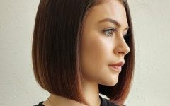 Classic Bob Hairstyles with Side Part