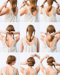 Diy Simple Wedding Hairstyles For Long Hair