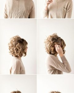 Easy Bridal Hairstyles For Short Hair
