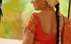 Kerala Wedding Hairstyles For Long Hair