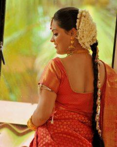 Kerala Wedding Hairstyles For Long Hair