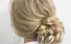 Looped Low Bun Hairstyles
