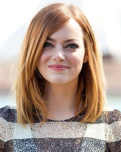 Medium To Long Hairstyles For Round Faces