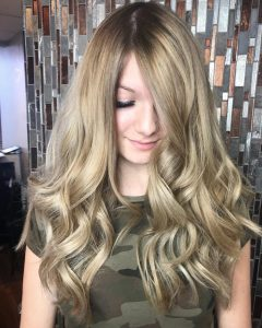Smooth Layers For Long Hairstyles