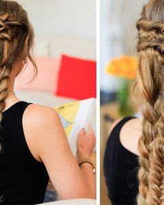 Braided Layered Hairstyles