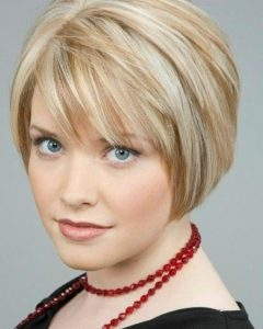 Short Layered Bob Hairstyles With Fringe