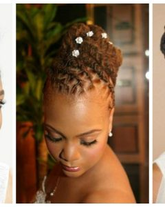 Loc Updo Hairstyles