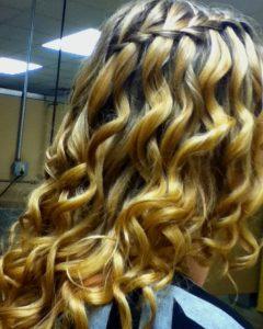 The Waterfall Braid Hairstyles