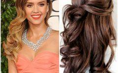 Wavy Hair Updo Hairstyles