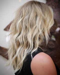 Blonde Shag Haircuts With Layers