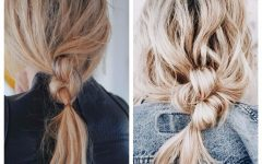 Loosely Braided Ponytail Hairstyles