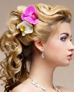 Loose Curly Updo Hairstyles