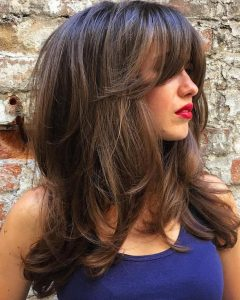 Full Tousled Layers Hairstyles