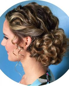 Natural Curly Hair Updos