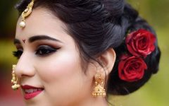 Maharashtrian Wedding Hairstyles for Long Hair