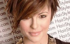 Asymmetrical Long Pixie Hairstyles For Round Faces