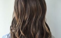Brunette Hairstyles with Dirty Blonde Ends