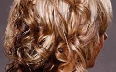 Curly Pixie Hairstyles with Light Blonde Highlights