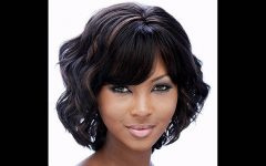 Medium Hairstyles for Black Ladies