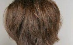Medium Length Choppy Layers Hairstyles