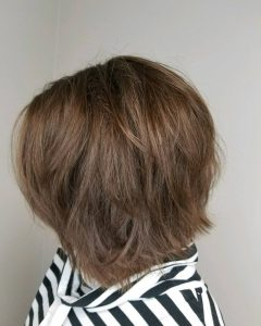 Medium Length Choppy Layers Hairstyles