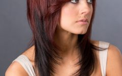 Red Medium Hairstyles