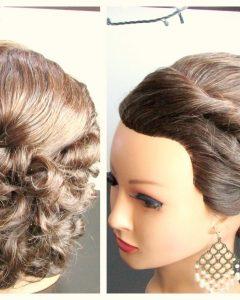 Medium Length Updo Wedding Hairstyles