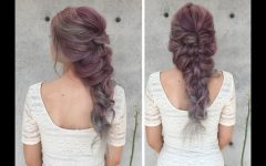 Messy Mermaid Braid Hairstyles