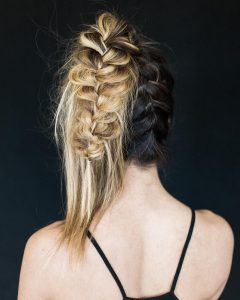 Perfectly Imperfect Side Ponytail Hairstyles