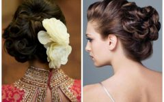 Indian Wedding Hairstyles For Short Curly Hair