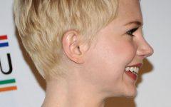 Michelle Williams Pixie Haircuts