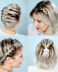 Braided Hairstyles On Short Hair