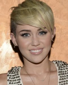 Miley Cyrus Pixie Haircuts