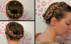 Milkmaid Crown Braided Hairstyles