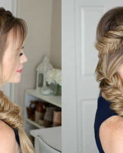 Fishtail Side Braided Hairstyles