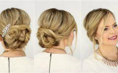 Elegant Twist Updo Prom Hairstyles