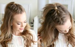 Mohawk French Braid Hairstyles